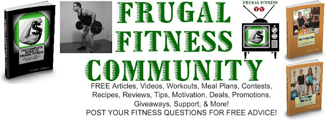 frugal fitness tv home workouts free cheap exercise nutrition budget facebook wod paleo crossfit boston