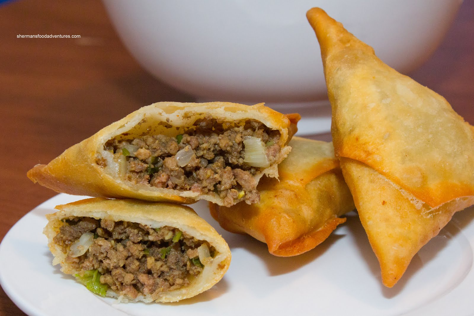 Beef Samosas Recipe — Dishmaps