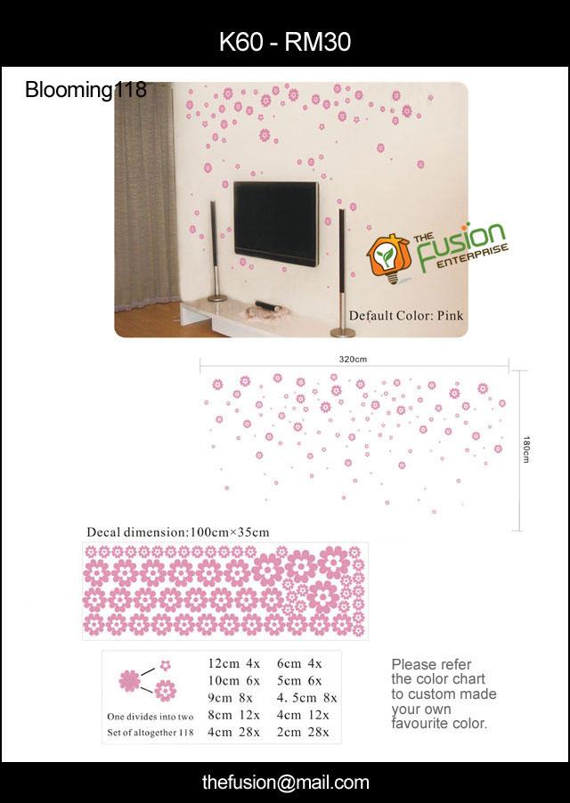 Sekarang Ni Ada Style Baru Wall Sticker Bentuk Jam N Tu Mmg Jalan Cam Ei Gak Meh Layan Gambar