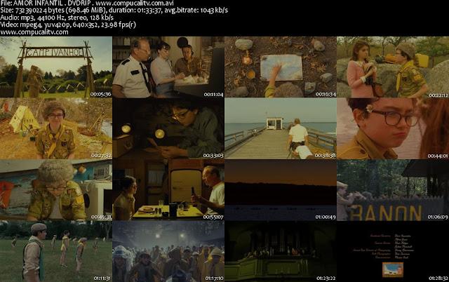 Moonrise Kingdom Amor Infantil DVDRip Español Latino Película 2012