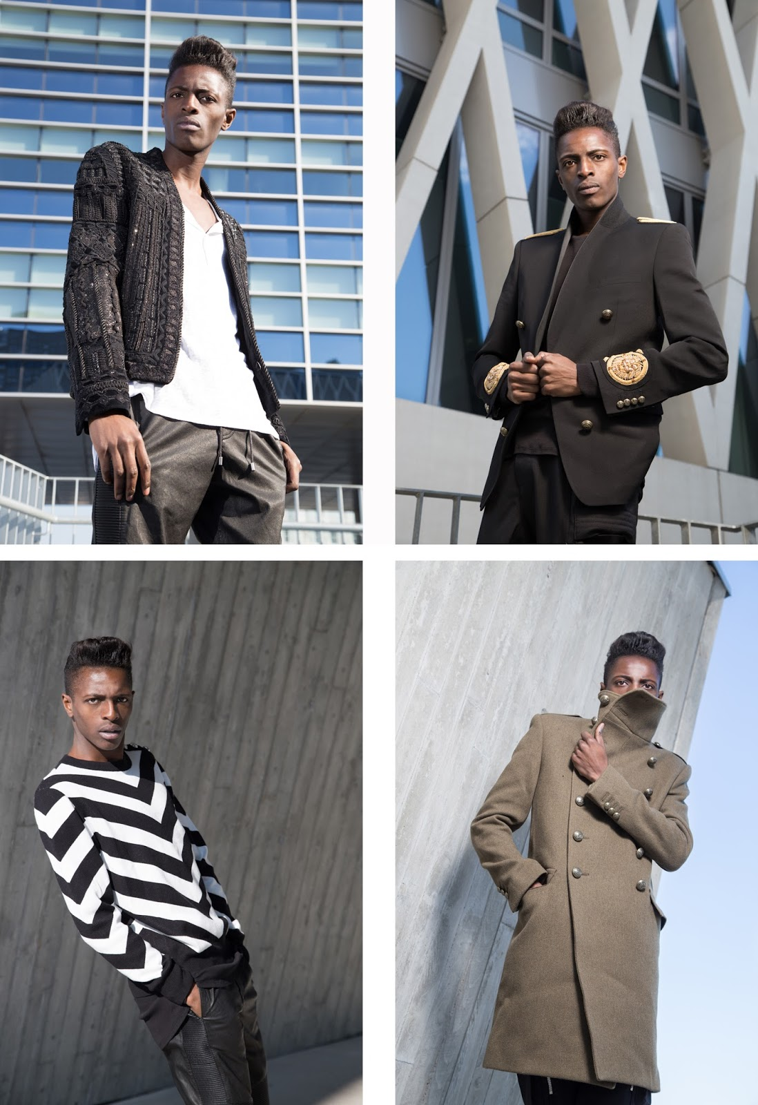 Introducing you Balmain x H&M men's collection + street style guide for Balmain x H&M men's collection written by jonthegold / photography by HOYmedia ( antwerp )