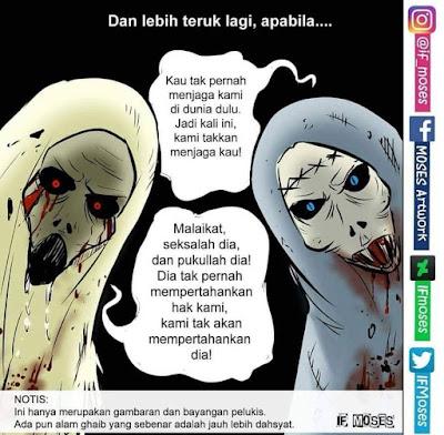 bayangkan, kartun islam, islamic cartoon, islamic comics, komik islam