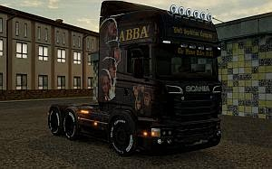 ABBA skin for Scania GTM