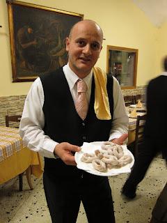 Leon d'Oro Restaurant, Piazza Dante, Naples, waiter