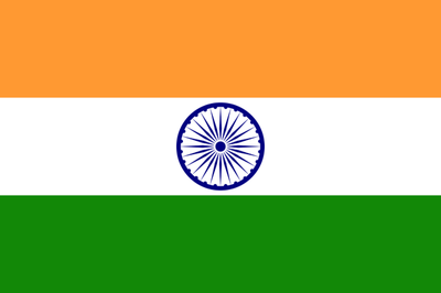 Flag of India. Moving towards New India.