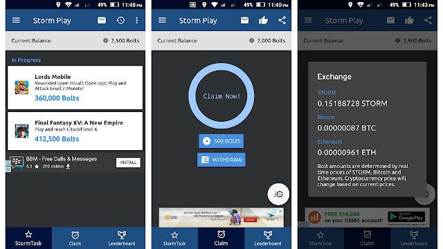 Main Game Di Android Dapat Bitcoin Gratis