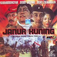 Gambar sampul film Janur Kuning pada VCD