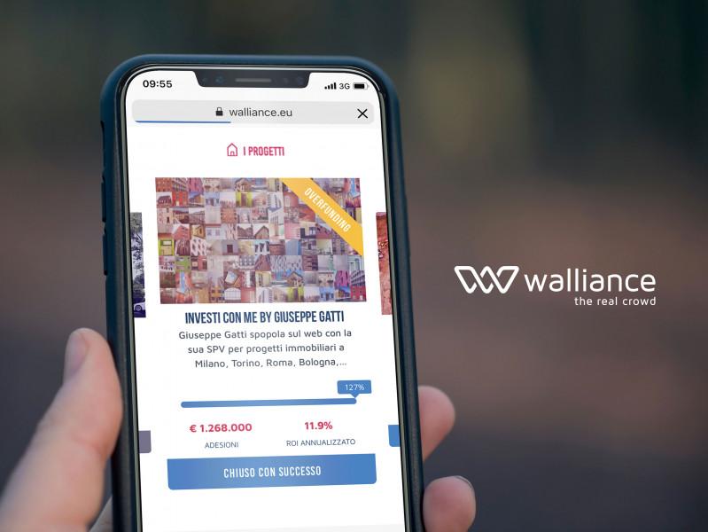 e39a9cba0b Walliance, la piattaforma che ha rivoluzionato il mercato della finanza  alternativa offrendo a tutti la possibilità di investire dal proprio pc  nella ...