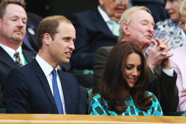Prince William and Catherine, the Duchess of Cambridge attended the men's singles final match between Serbia's Novak Djokovic and Switzerland's Roger Federer.