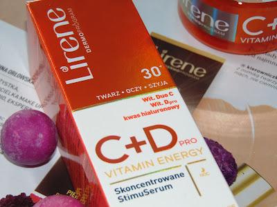 Serum z witaminą C - C+Dpro Vitamin Energy 30+ , Lirene
