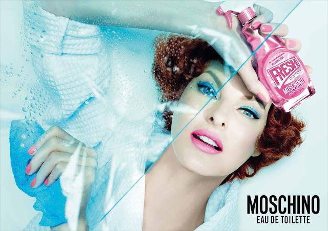 Fresh Couture Pink Moschino Linda Evangelista