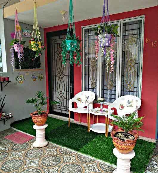 Cara Mudah Membuat Teras Rumah Minimalis Sederhana Hemat Biaya
