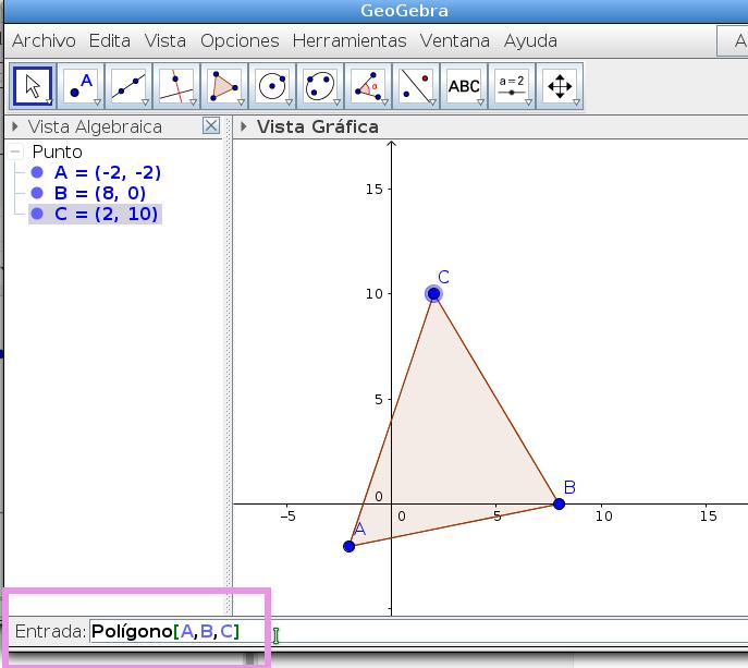 Puntos Medios de los lados de un Triángulo - Geometría Analítica con ...