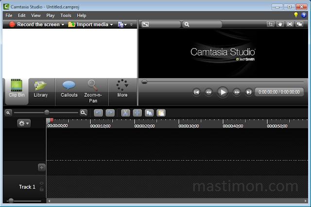 Cara menggunakan Camtasia Vidio 8 tanpa Registrasi dan tanpa Watermark
