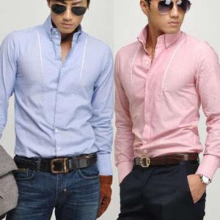 Bboy Moda Combinar Pantalones Obscuros Con Camisas Para Hombre
