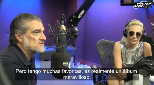 Lady Gaga y su padre 'Joe Germanotta' hablan con Grimmy en la BBC Radio 1