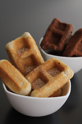 Mini Waffle Cookies recipe from Bake Chocolate Cake