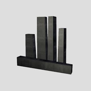 Converter magnesia carbon brick