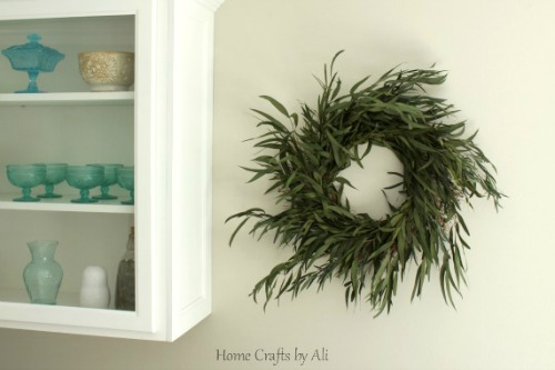 Easy to Make Greenery Wreath Home Crafts by Ali