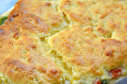 Easy Weeknight Cornbread Chicken Casserole Recipe