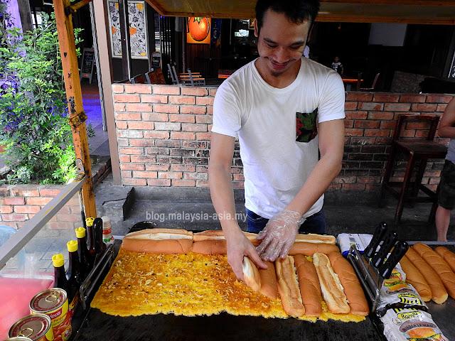 Street Food in Miri