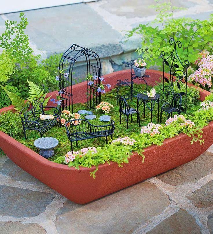Nalanın Dünyası Diy Minyatür Bahçe