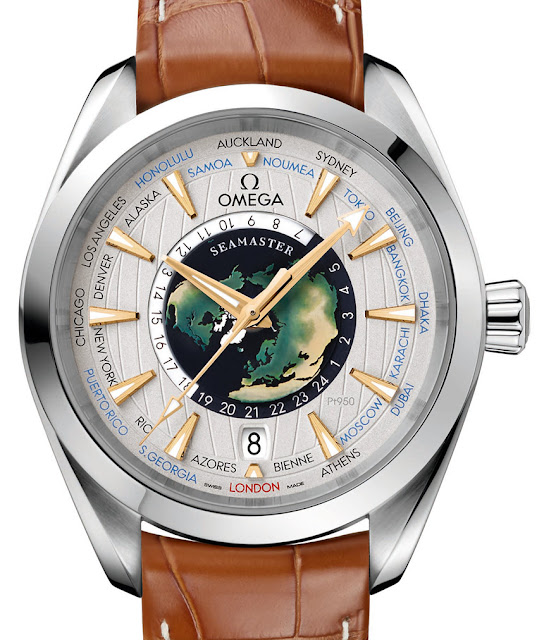 Réplique Omega Seamaster Aqua Terra Worldtimer Master Chronometer Montre