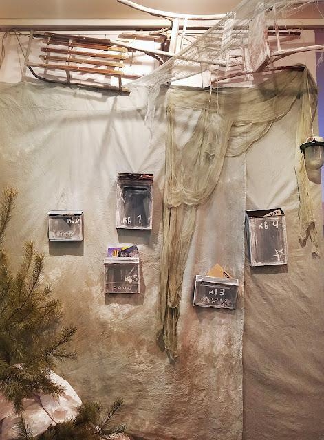 атмосфера старого дома, пять историй старого дома, выставка авторской куклы