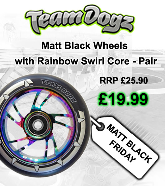BLACK FRIDAY - 100mm Neo Chrome Wheels Special Offer
