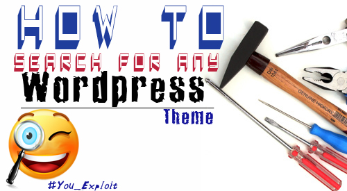 How to search for any Wordpress Theme