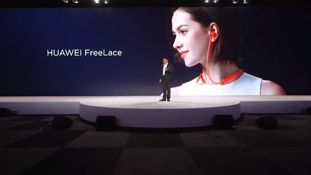Huawei's new FreeLace earphones can charge from your phone