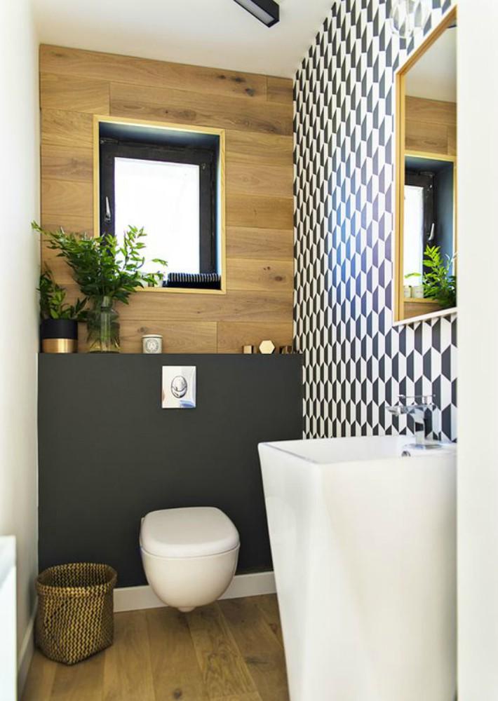 Decoraci n f cil consejos para decorar un ba o o aseo estrecho - Mueble bano estrecho ...