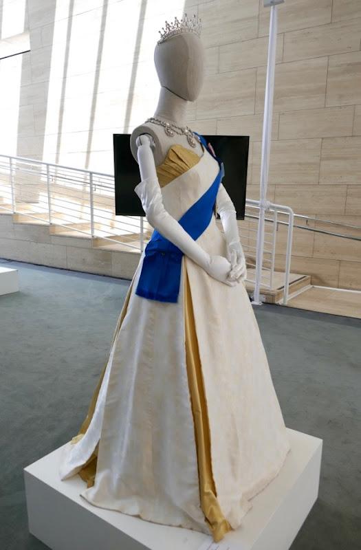 Queen Elizabeth II Ambassador Ball Gown Crown