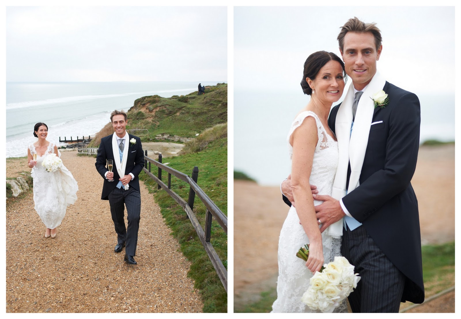 On Your Wedding Day By Unknown: Real Elegant Winter White Wedding: Karianne & Philip