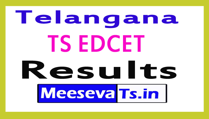 TS EDCET Result 2017 – TS EDCET 2017 Results