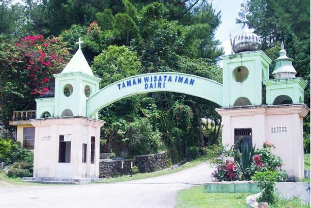 Wisata Iman, Taman Wisata 5 Agama di `Dairi Sumatera Utara`