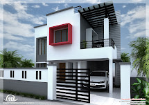 1800 Sq FT Modern House Designs