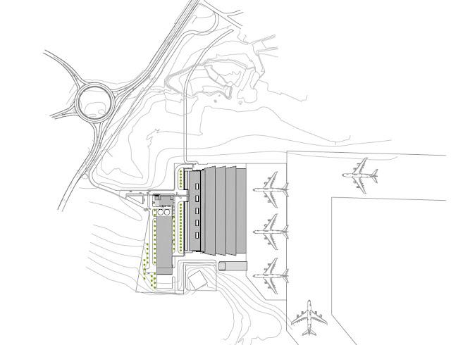 plano topográfico aeropuerto