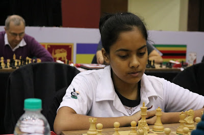 Some of the Girls playing at the IIFL Wealth Mumbai International Tournament