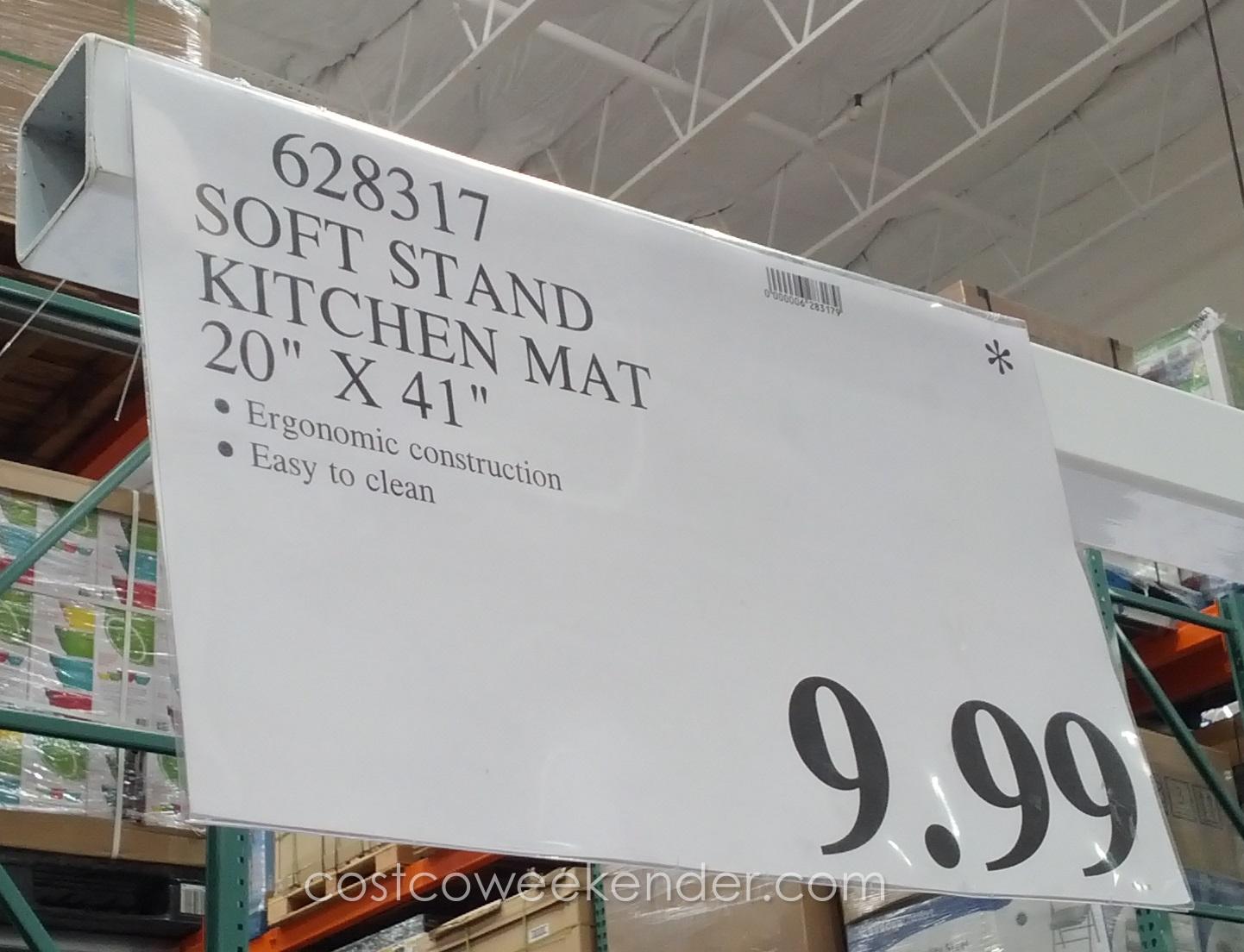 Novaform Kitchen Mat Remodeling Software Apache Mills Soft Stand   Costco Weekender