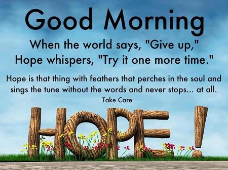 Best Inspirational & Motivational Good Morning Image