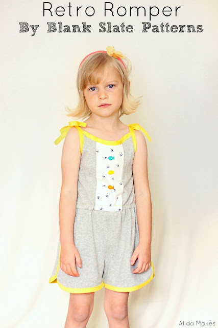 Retro Romper sewn by Alida Makes
