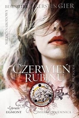 Chronograf, loża i tajemnice, czyli Czerwień Rubinu Kerstin Gier.