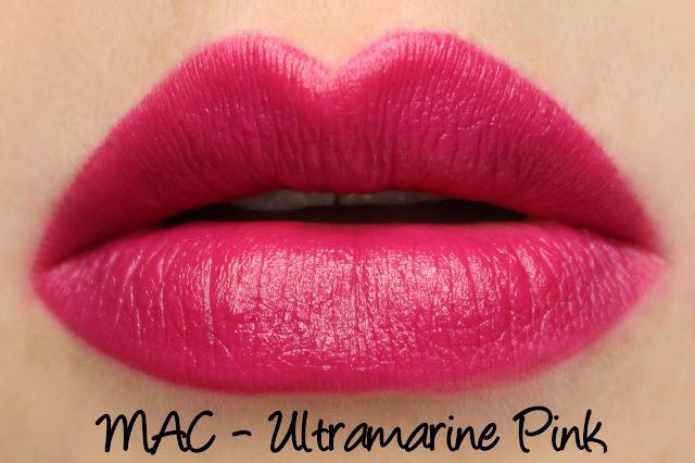 MAC Monday: Prabal Gurung - Ultramarine Pink Lipstick Swatches & Review