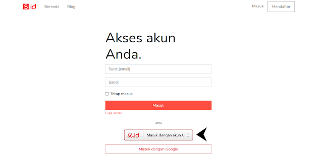 apa itu u.id? Cara menggunakan u.id, cara mendaftar u.id, apa itu SSO? fungsi dan kelebihan u.id? Single sign-on, S.id, My.id, PANDI, identitas virtual, udentitas digital, informasi dan privasi pengguna, KEMKOMINFO, abiebdragx
