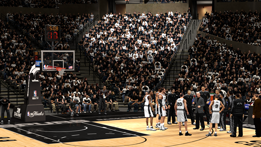 Spurs 2014 NBA Finals | NBA2K
