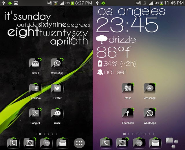 Glass theme go launcher hd pad apk download