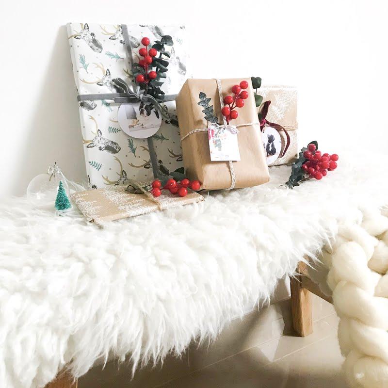DIY navideño, envolver regalos y sorpresa con HP TANGO