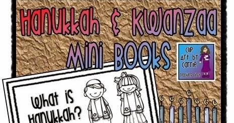Clip Art by Carrie Teaching First: Hanukkah and Kwanzaa ...