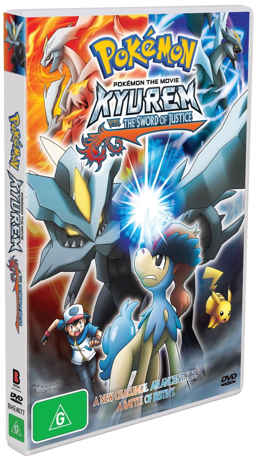 Cinema Release For Pokemon Kyurem Vs The Sword Of Justice